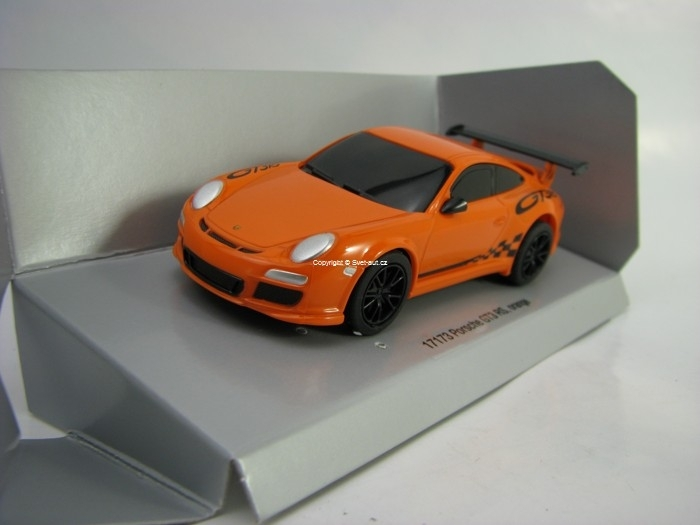 Porsche GT3 RS Orange Pull Back Action Carrera 17173