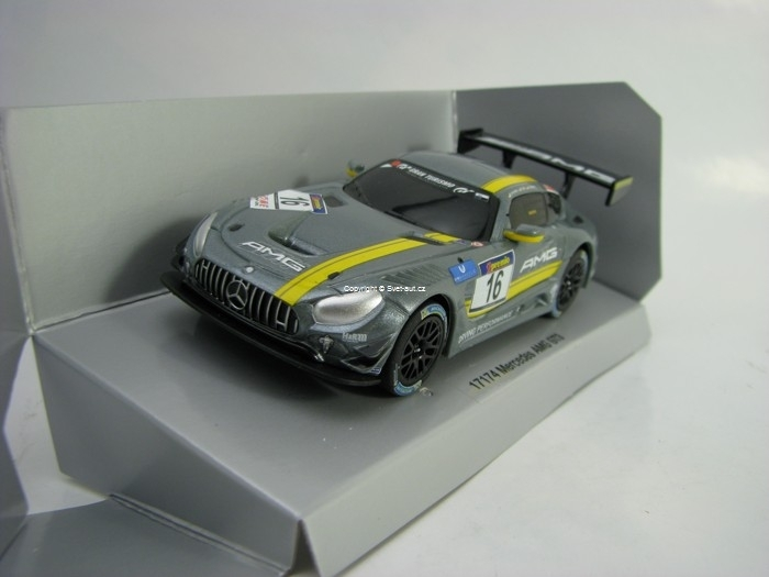 Mercedes AMG GT3 No.16 Pull Back Action Carrera 17174