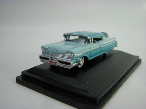 Mercury Turnpike 1957 Tahitian Green 1:87 Oxford
