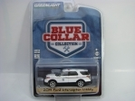 Ford Interceptor Utility 2014 1:64 Blue Collar Greenlight