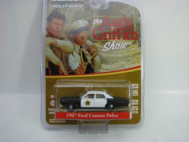 Ford Custom Police 1967 The Andy Griffith Show 1:64 Hollywood Greenlight