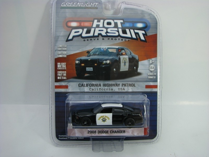 Dodge Charger 2008 1:64 Hot Pursuit série 22 Greenlight