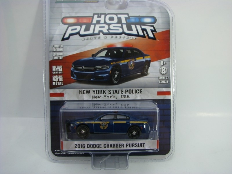 Dodge Charger 2016 New York State Police 1:64 Hot Pursuit série 23 Greenlight