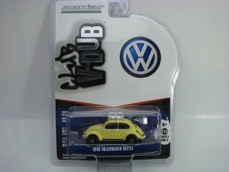 Volkswagen Beetle 1948 1:64 Club V-Dub série 5 Greenlight