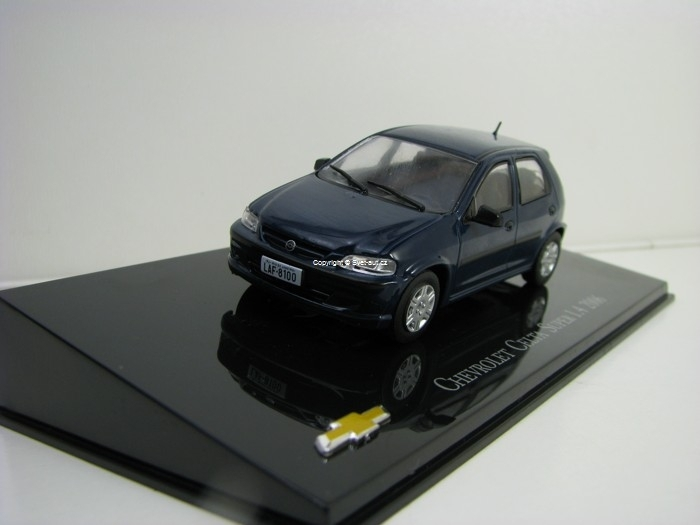 Chevrolet Celta Super 1,4 2006 Blue 1:43 Ixo Altaya