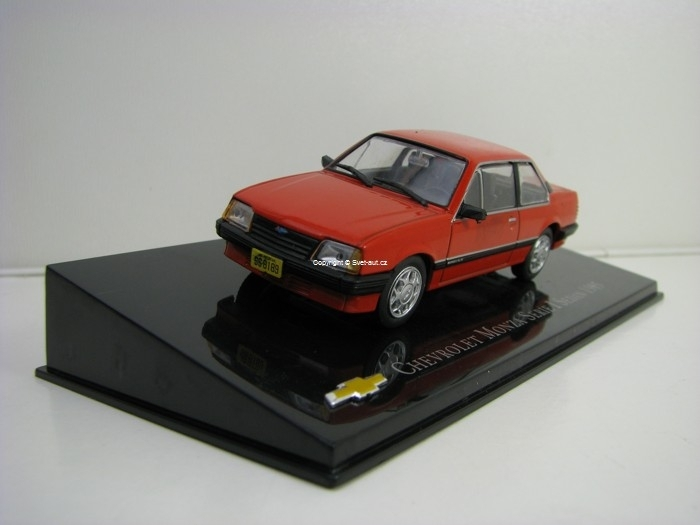 Chevrolet Monza Serie I Sedan 1985 Red 1:43 Ixo Altaya.
