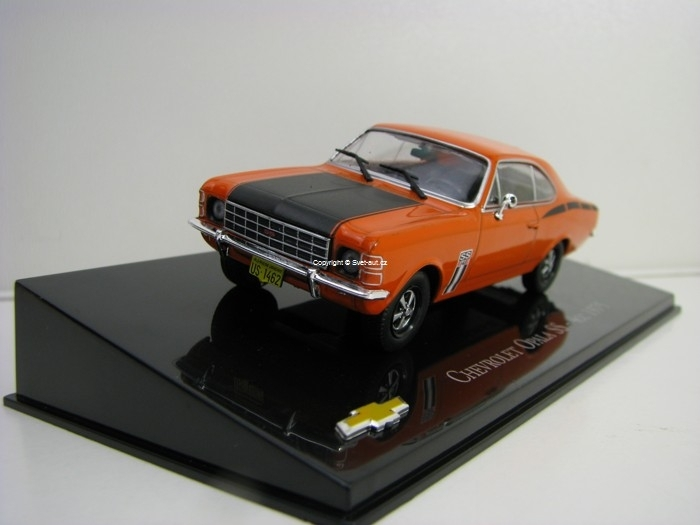Chevrolet Opala SS - 4cc 1975 Orange 1:43 Ixo Altaya