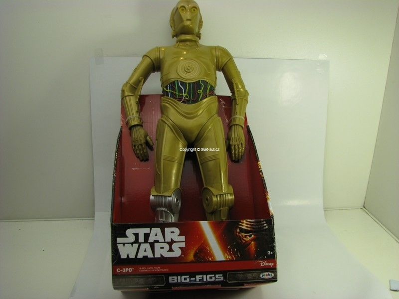 Star Wars Big-Figs 3-3PO Figurka 46 cm Disney Jakks