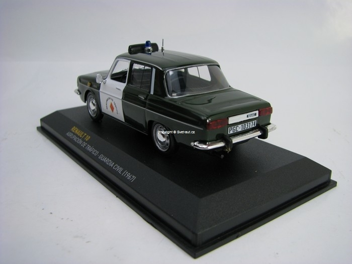 Renault 10 Guardia Civil 1967 1:43 Atlas