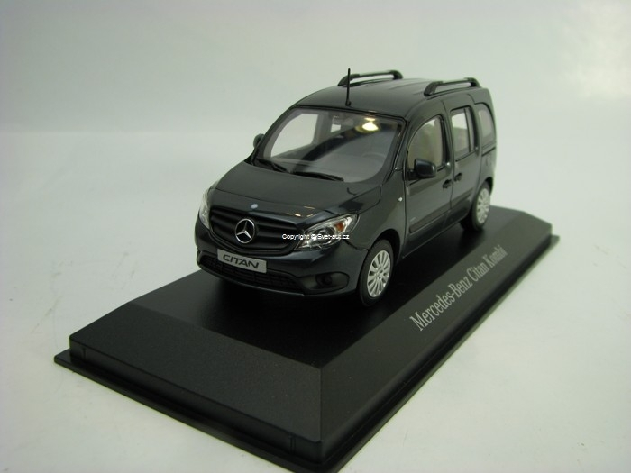 Mercedes-Benz Citan Kombi 2012 Grey 1:43 Minichamps
