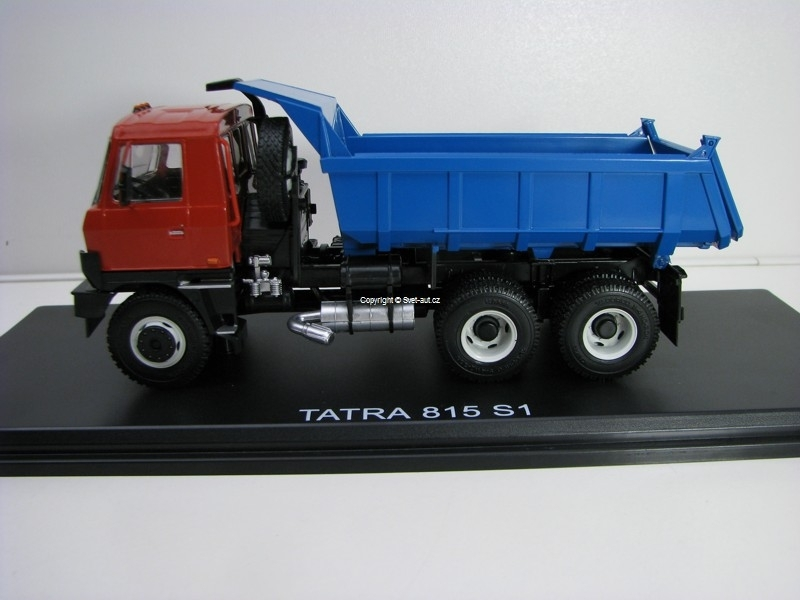 Tatra 815 S1 Dumper Red/Blue 1:43 Start Scale Models