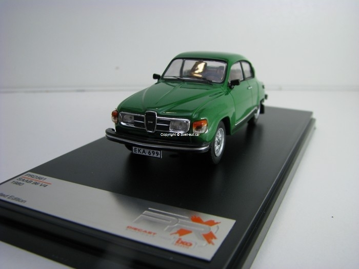 Saab 96 V4 1980 Green Metallic 1:43 PRX IXO