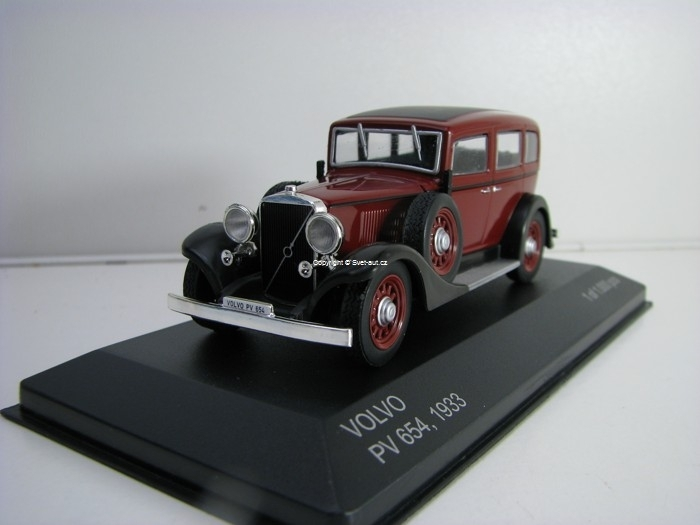 Volvo PV 654 1933 Purple 1:43 White Box