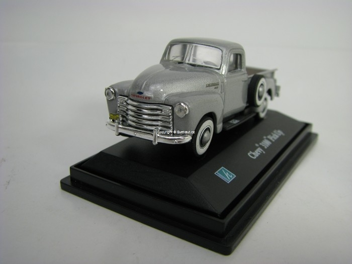 Chevrolet 3100 Pick Up Silver 1:72 Cararama