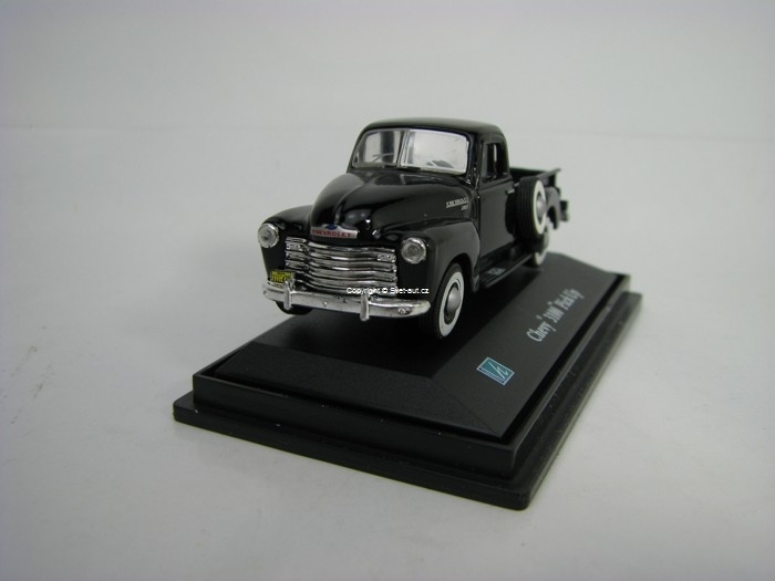 Chevrolet 3100 Pick Up Black 1:72 Cararama