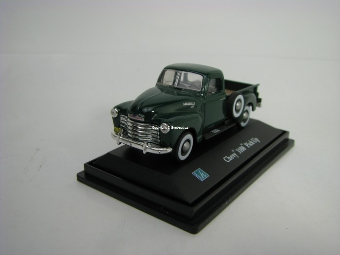 Chevrolet 3100 Pick Up zelený 1:72 Cararama