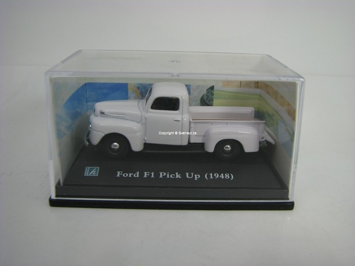 Ford F1 Pick Up 1948 White 1:72 Cararama