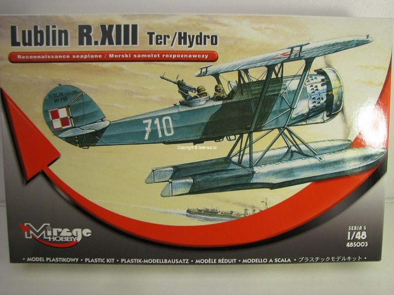 Lublin T.XIII Ter/Hydro 1:48 Mirage Hobby 485003