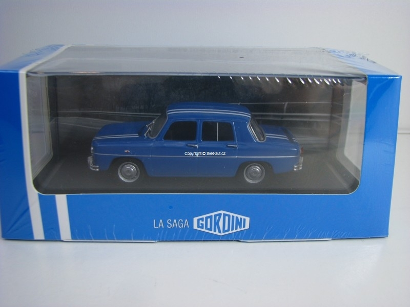 Renault 8 Gordini 1300 Blue 1966 Atlas Edition