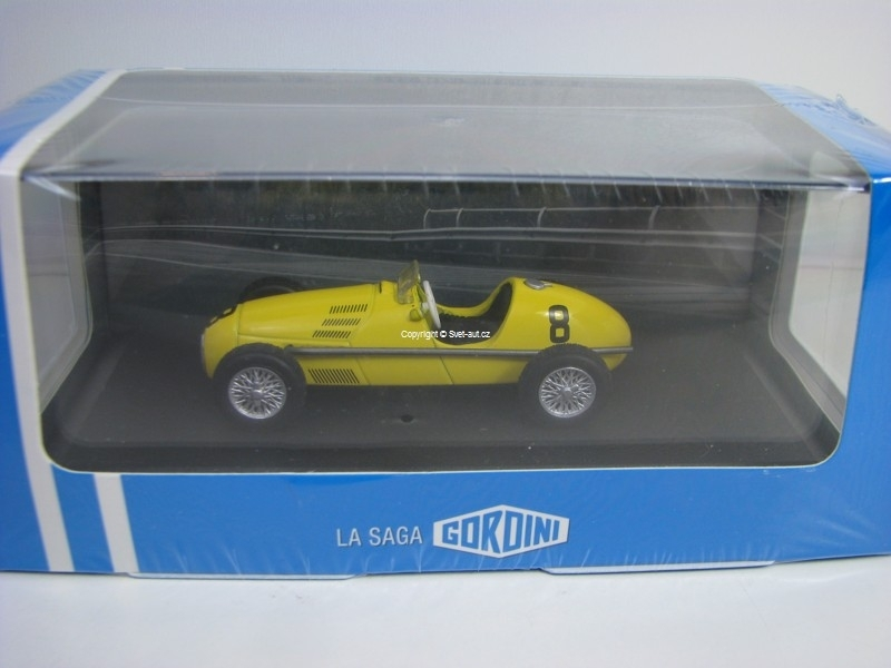 Renault Gordini type 16 Formule 1 No.8 GP de Pau 1954 Atlas Edition