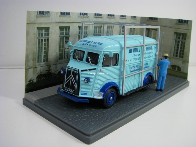 Citroen Type H Vitrerie Glaces 1:43 Atlas Edition