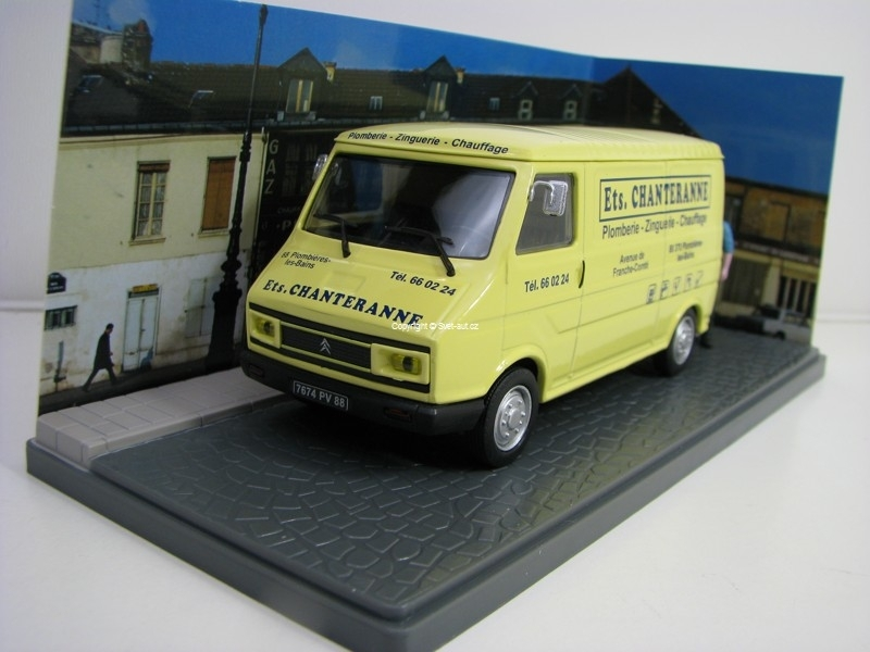 Citroen C35 Fourgon Plomberie 1:43 Atlas Edition