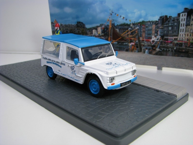 Citroen Mehari poissonnerie 1:43 Atlas Edition