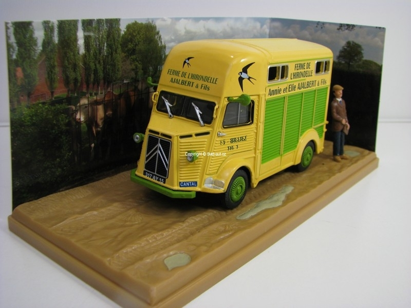 Citroen Type H Marchand de Betail 1:43 Atlas Edition