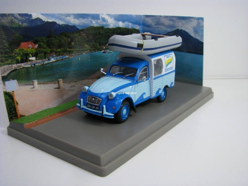 Citroen 2CV AKS 400 Centre Nautique 1:43 Atlas Edition