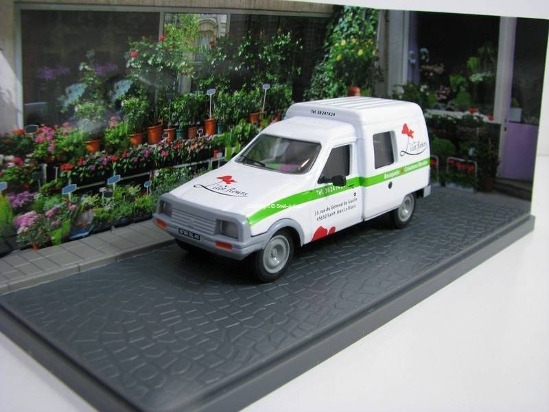 Citroen C15 Fleuriste 1:43 Atlas Edition