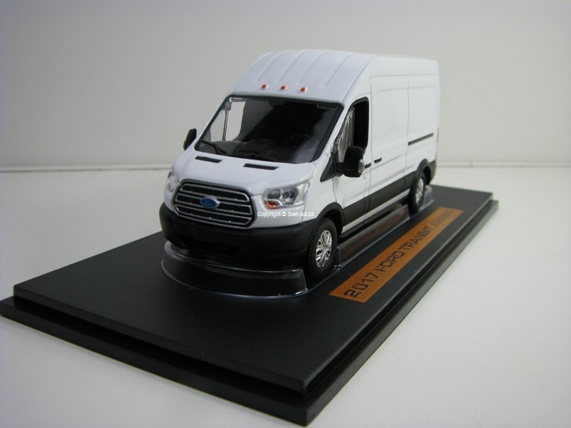 Ford Transit 2017 Extended van High Roof White 1:43 Greenlight