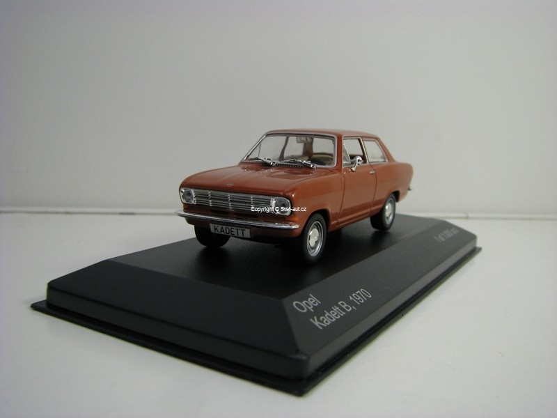 Opel Kadett B 1970 Brown 1:43 White Box