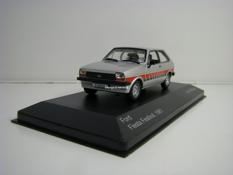 Ford Fiesta Festival 1981 1:43 White Box 144