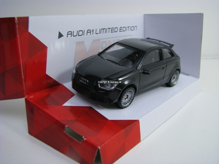 Audi A1 Limited Edition Black 1:43 Mondo Motors Fast Road