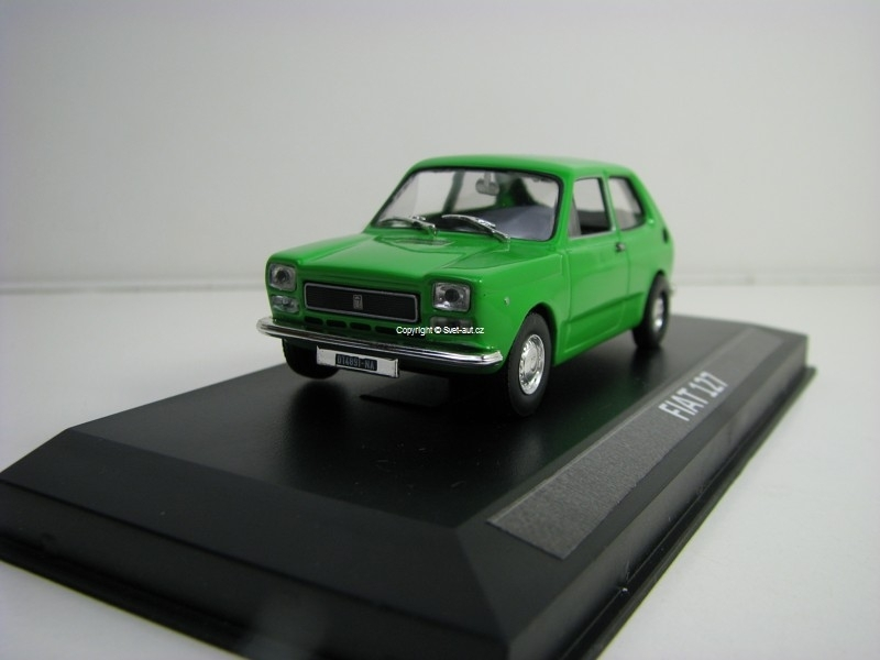 Fiat 127 Green s vitrínkou 1:43 Edition Atlas