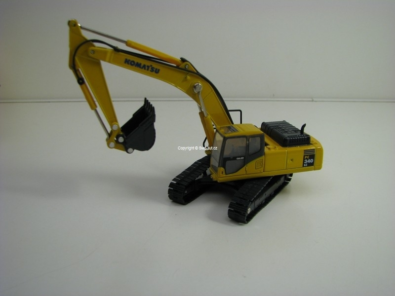 Pásový Bagr Komatsu PC340LC 1:76 Oxford Construction