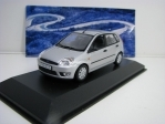 Ford Fiesta 2001 5 doors Silver metallic 1:43 Minichamps