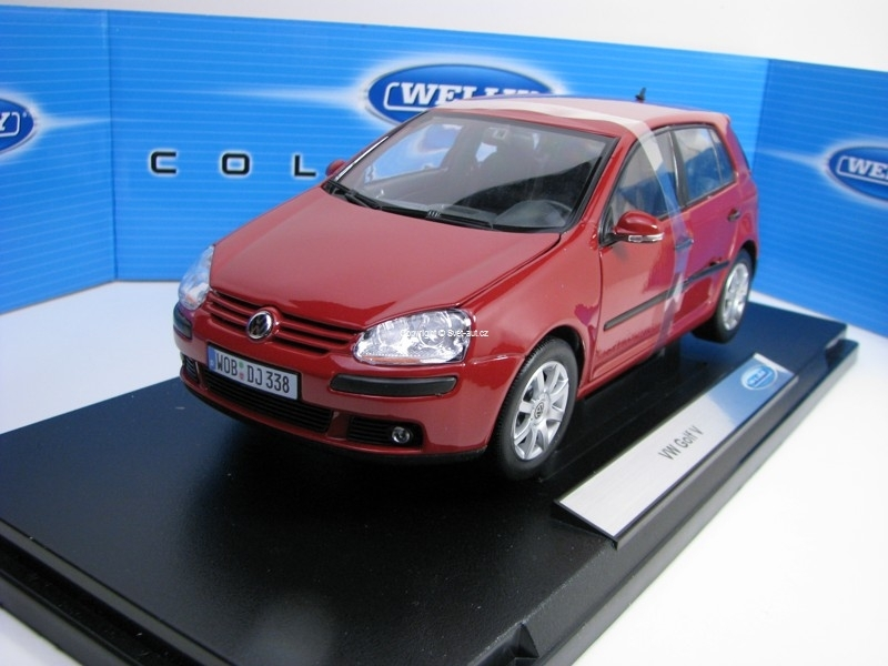 Volkswagen Golf 5 Purple 1:18 Welly
