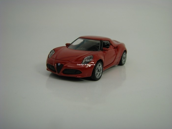 Alfa Romeo 4C Red model Siku 1451