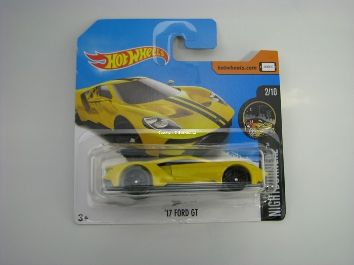 17 Ford GT Yellow Hot Wheels Nightburnez 2/10