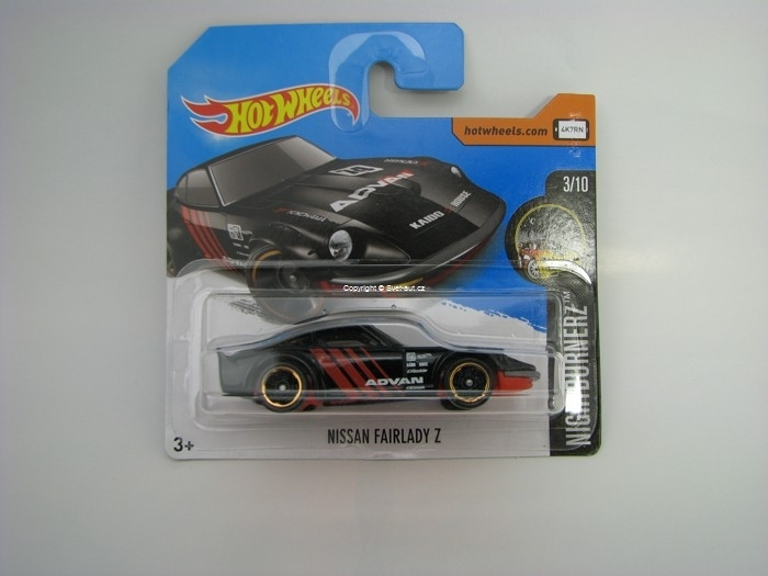Nissan Fairlady Z ADVAN Hot Wheels Nightburnez 3/10