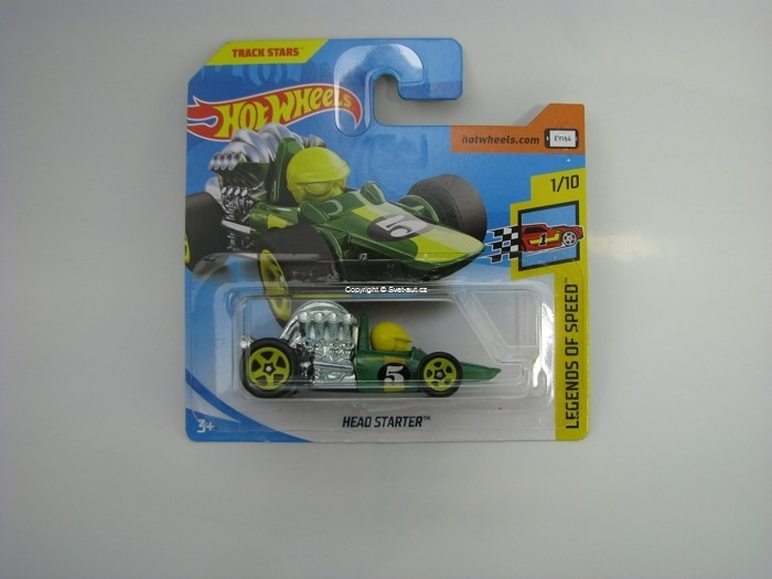 Head Starter No.5 Hot Wheels Legend Of Speed 1/10