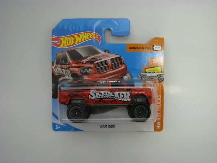 Dodge Ram 1500 Skyjacker Hot Wheels HW Hot Truks 5/10