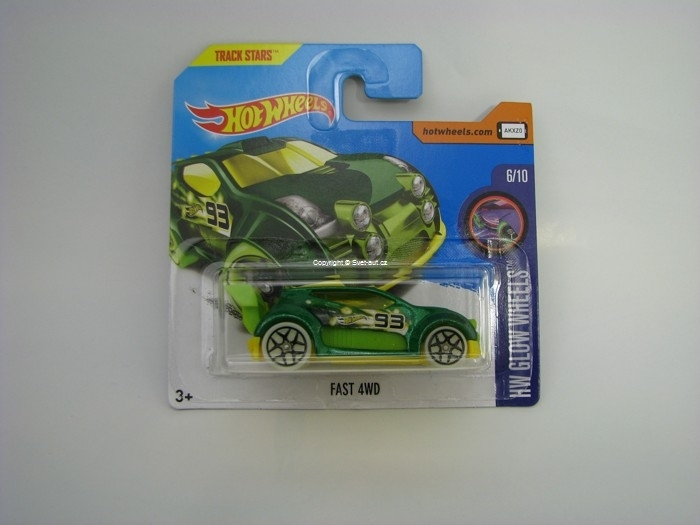 Fast 4WD Hot Wheels HW Glow Wheels 6/10