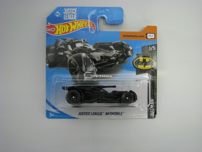 Justice League Batmobile Hot Wheels Batman 1/5