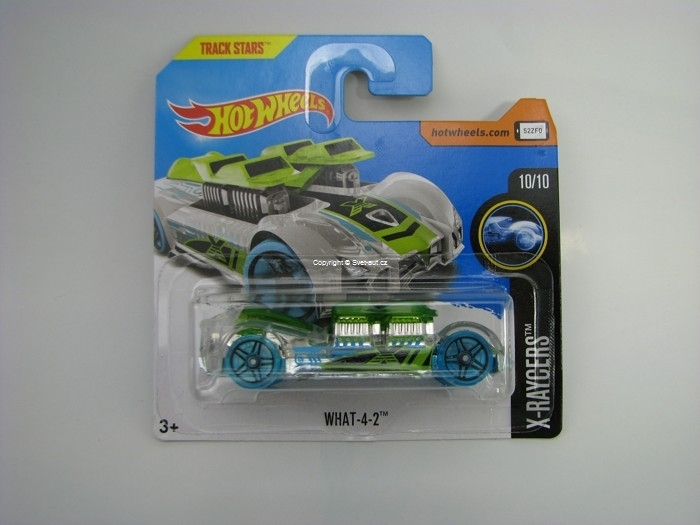 WHAT-4-2 Hot Wheels X-Racers 10/10