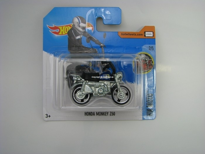 Honda Monkey Z50 Hot Wheels HW Moto 2/5