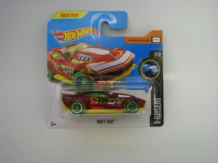 Drift Rood Hot Wheels X-Raycers 7/10