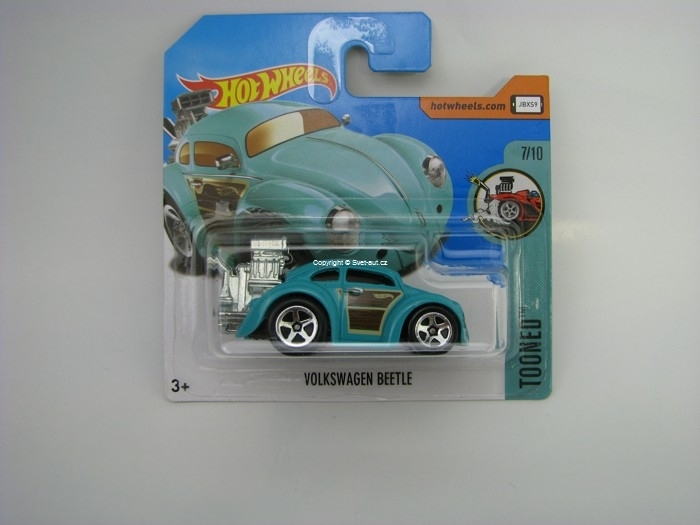 Volkswagen Beetle Hot Wheels Tooned 7/10