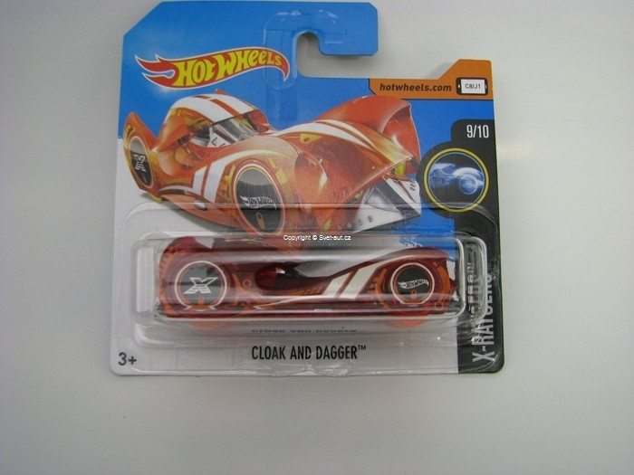 Cloak And Dagger Hot Wheels X-Raycers 9/10